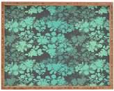 Deny Designs Teal Large Rectangular Tray