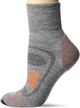Merrell Women's Merino Wool Cushioned Hiker Quarter Socks 1 Pair