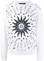 John Richmond wild print sweatshirt