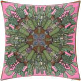 Silken Favours - Combustibale Cactus Cushion - 55x55cm