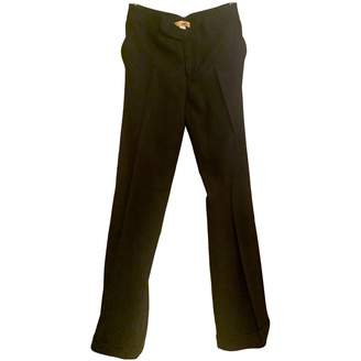 Catherine Malandrino Black Wool Trousers for Women