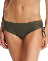 OndadeMar Every Day in Fashion Ruched Swim Bottom, Gray