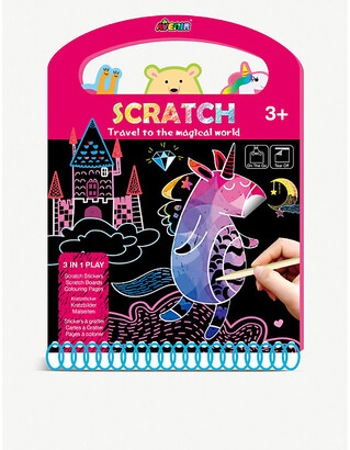 Selfridges Scratch Travel to the Magical World activity book