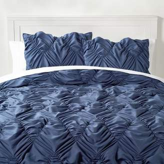 Pottery Barn Teen Whimsical Waves Comforter, Full/Queen, Faded Navy