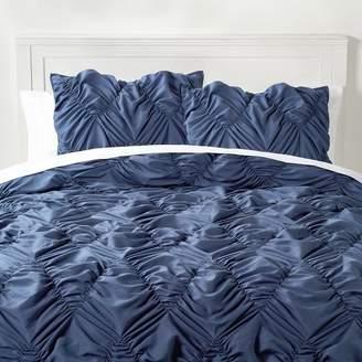 Pottery Barn Teen Whimsical Waves Comforter, Twin/Twin XL, Faded Navy