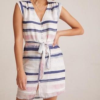Bella Dahl Shirred Cap Sleeve Dress - XS