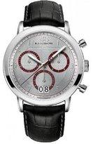 88 Rue du Rhone Men's 87WA130026 Double 8 Analog Display Swiss Quartz Black Watch