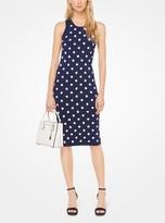 MICHAEL Michael Kors Floral Embellished Stretch-Viscose Dress