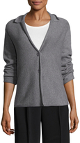 Eileen Fisher Recycled Cashmere Notch Collar Blazer
