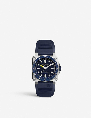 Bell & Ross BR0392DBUSTSRB Instruments BR 03-92 Diver stainless steel and rubber watch