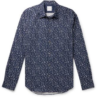 Paul Smith Slim-Fit Printed Cotton Shirt