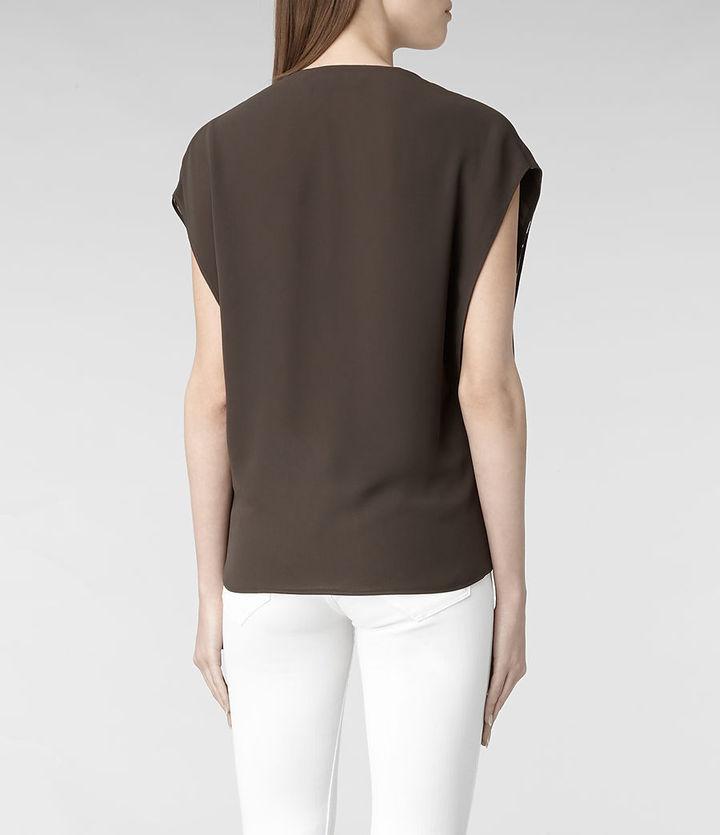 AllSaints Siete Screen Shirt