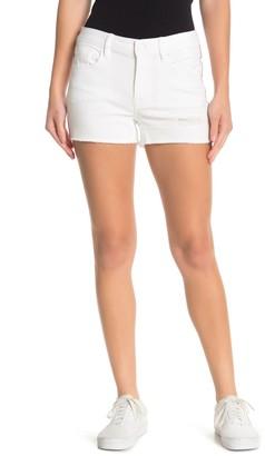 Vigoss Marley Side Stripe Mid-Rise Shorts