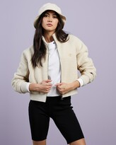 Thumbnail for your product : Champion Women's White Jackets - Sherpa Jacket - Size XL at The Iconic