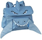 Bixbee Boy's 'Shark' Water Resistant Backpack - Blue