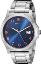 Marc by Marc Jacobs Men's MBM5085 Analog Display Analog Quartz Silver Watch