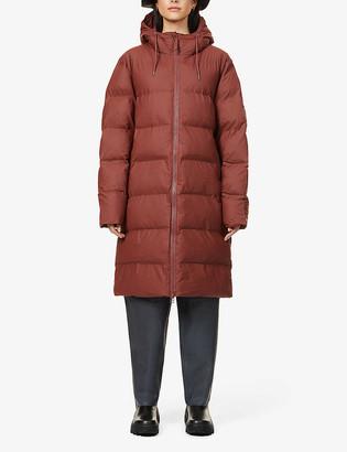 Rains Padded shell puffer coat