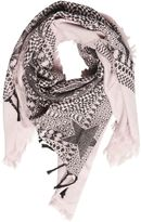 Diesel Mohican Printed Cotton Scarf