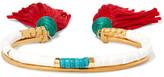 Aurelie Bidermann Sioux Gold-plated, Stone And Tassel Bracelet