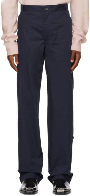 Calvin Klein Navy Workwear Trousers