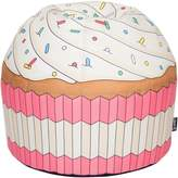 Woouf Gifts for Kids Cupcake Bean Bag Cover, Pink