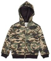 True Religion Toddler's & Little Boy's Cotton Camo Hoodie