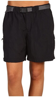 Columbia Sandy River Cargo Short (Black/Grill 2) Women's Shorts