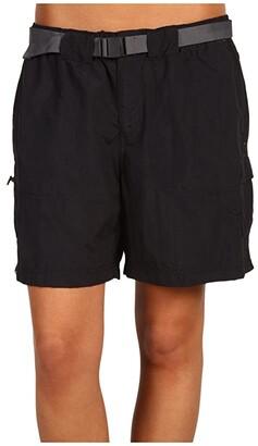Columbia Sandy Rivertm Cargo Short (Black/Grill 2) Women's Shorts