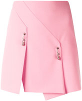 Versus safety pin detail skirt - women - Polyester/Spandex/Elastane - 40