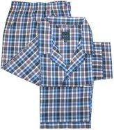 Majestic International Men's Big & Tall Long Sleeve Long Leg Pajama Set