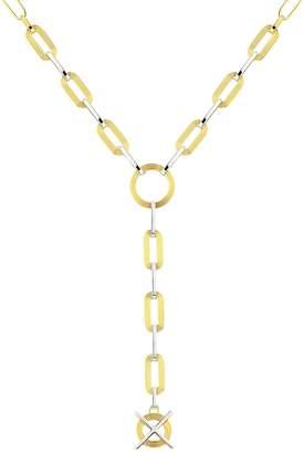 Kloto Ion.655 Silver & Gold Pendant Necklace
