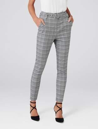 Ever New Tamara High-Waist Belted Pants
