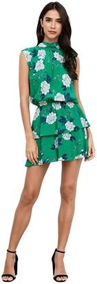 Yumi Kim Kiss Me Dress (Velvet Morning Emerald) Women's Dress