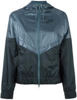 Nike colour block windbreaker jacket