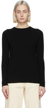S Max Mara Black Wool Freddy Sweater