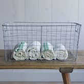 west elm Wire Mesh Storage - Rectangular Basket