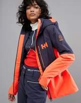 Helly Hansen Freedom Jacket in Navy/Orange
