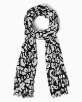 Charming charlie Serra Leopard Scarf