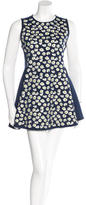 Kenzo Embroidered Sleeveless Dress w/ Tags