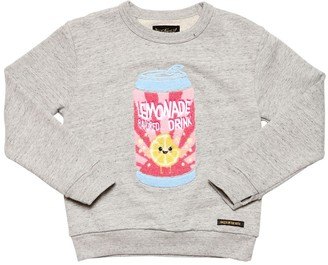 Finger In The Nose Lemonade Cotton Sweatshirt