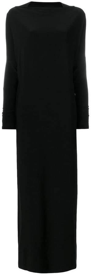 Norma Kamali long-sleeve dress