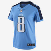 Nike NFL Tennessee Titans Color Rush Limited Jersey (Marcus Mariota) Women's Football Jersey