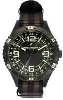 Daniel Hechter Men's Quartz Watch with Black Dial Analogue Display Quartz Fabric DHH 002/3AZ