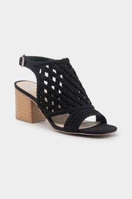 Fergalicious Viv Slingback Heeled Sandal - Black
