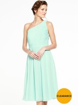 Very Bridesmaids One Shoulder Prom Dress