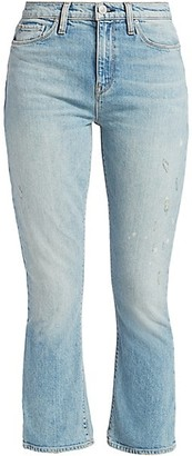 Hudson Holly High-Rise Crop Bootcut Jeans
