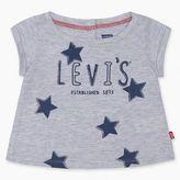 Levi's Newborn Girls Logo Graphic Tee (6-9 M)