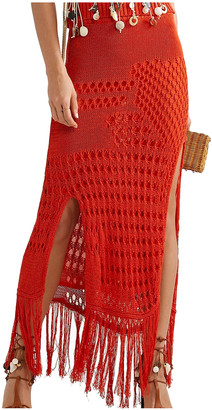 Altuzarra Orange Cotton Skirts
