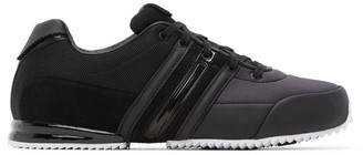 Y-3 Black and White Sprint Sneakers