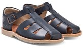 Young Soles Navy Fisherman Sandals